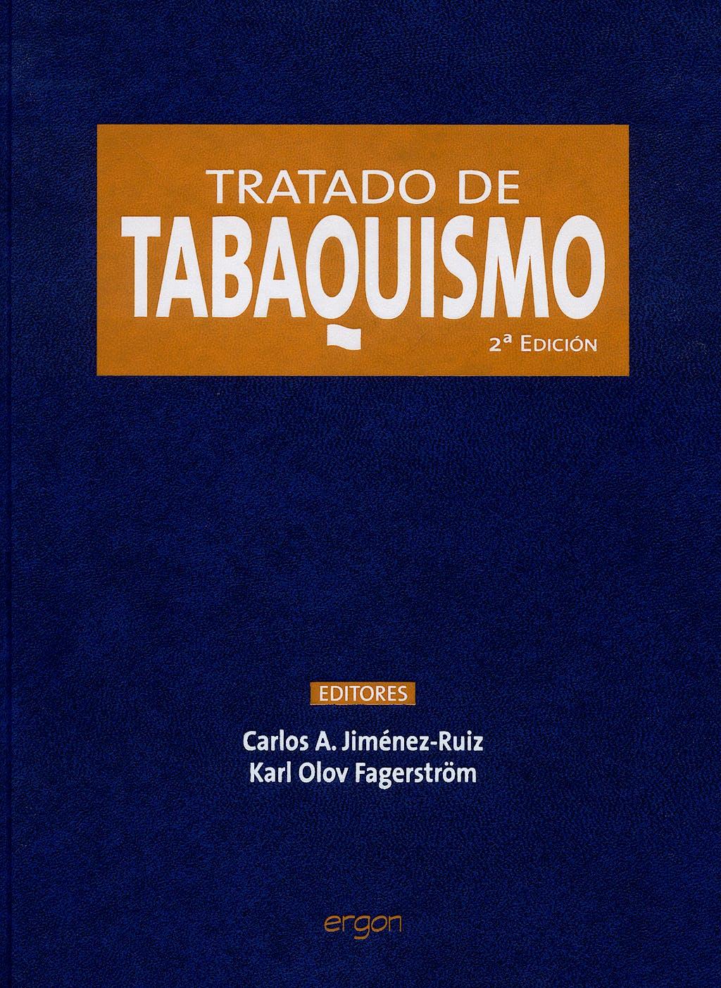 Portada del libro 9788484735649 Tratado de Tabaquismo