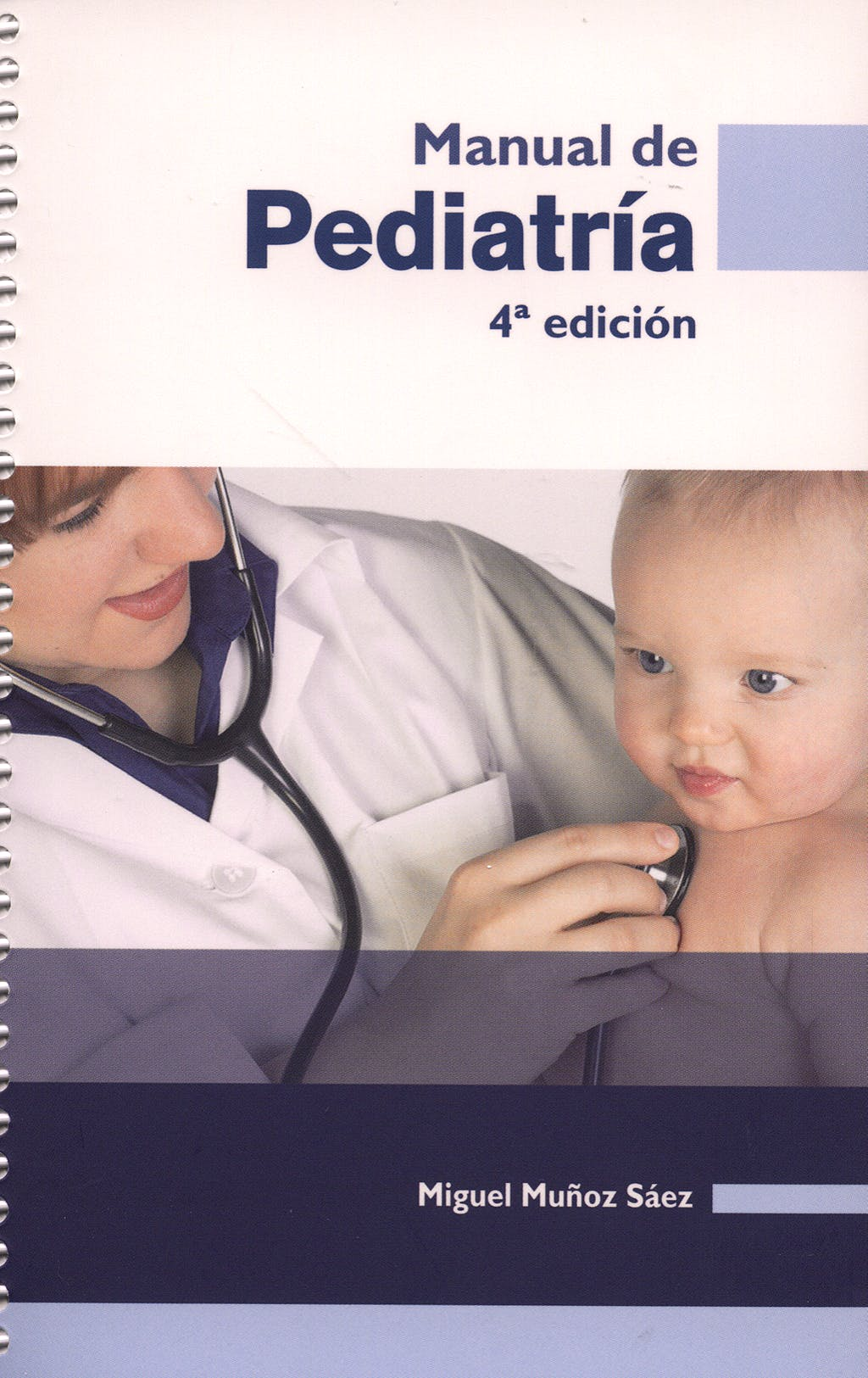 Portada del libro 9788484736639 Manual de Pediatria