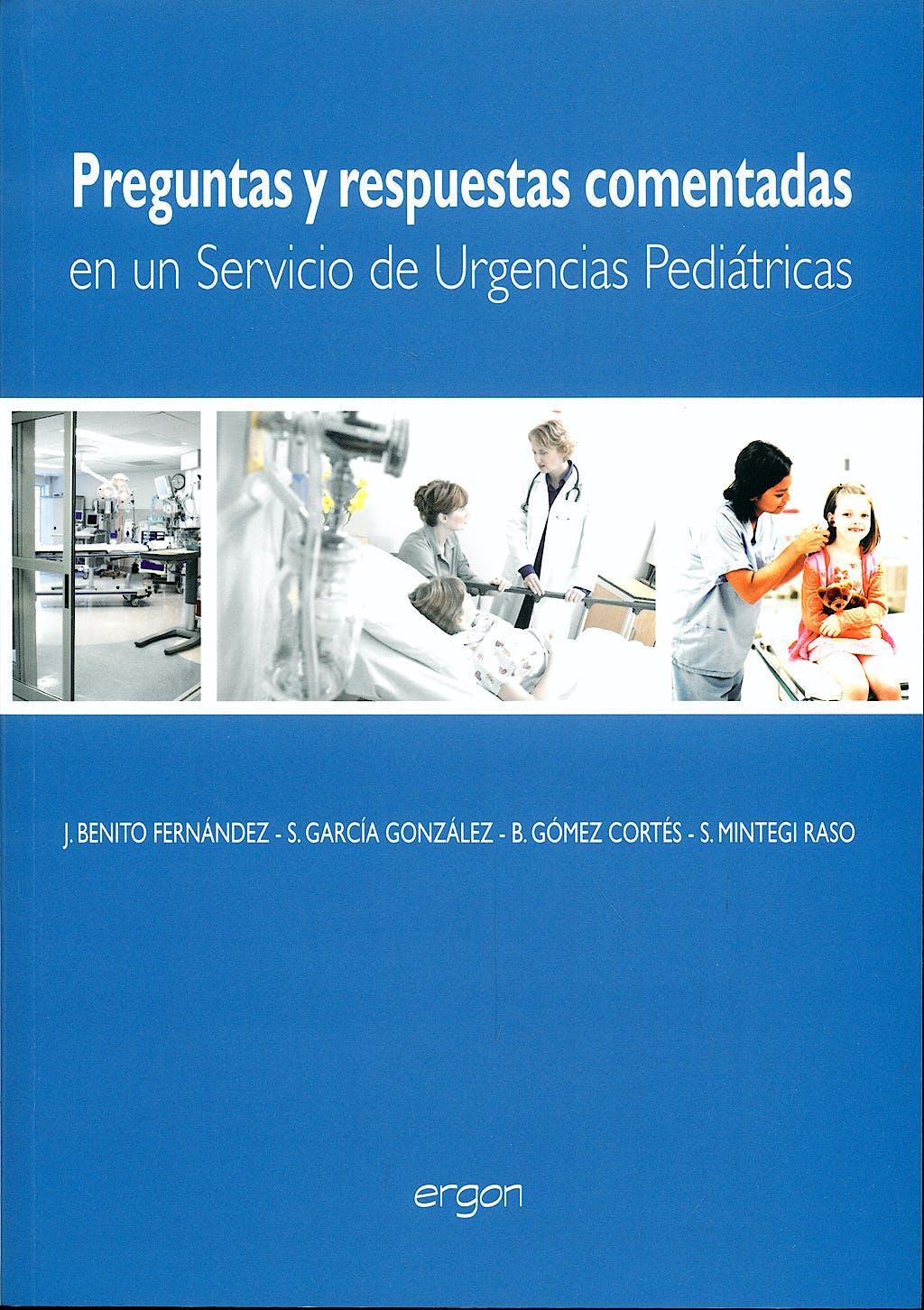 Portada del libro 9788484737346 Preguntas y Respuestas Comentadas en un Servicio de Urgencias Pediátricas