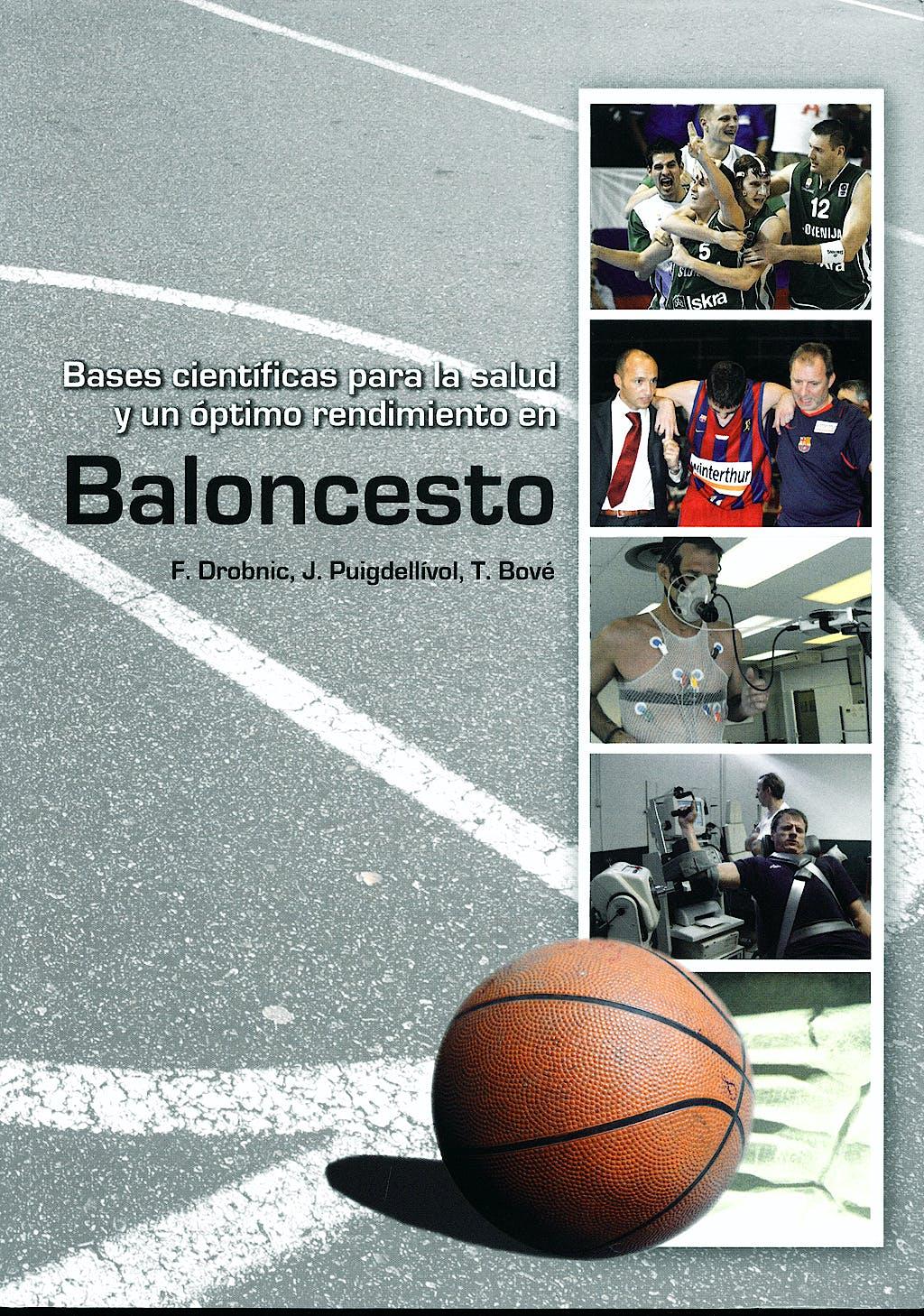 Portada del libro 9788484737384 Bases Cientificas para la Salud y un Optimo Rendimiento en Baloncesto