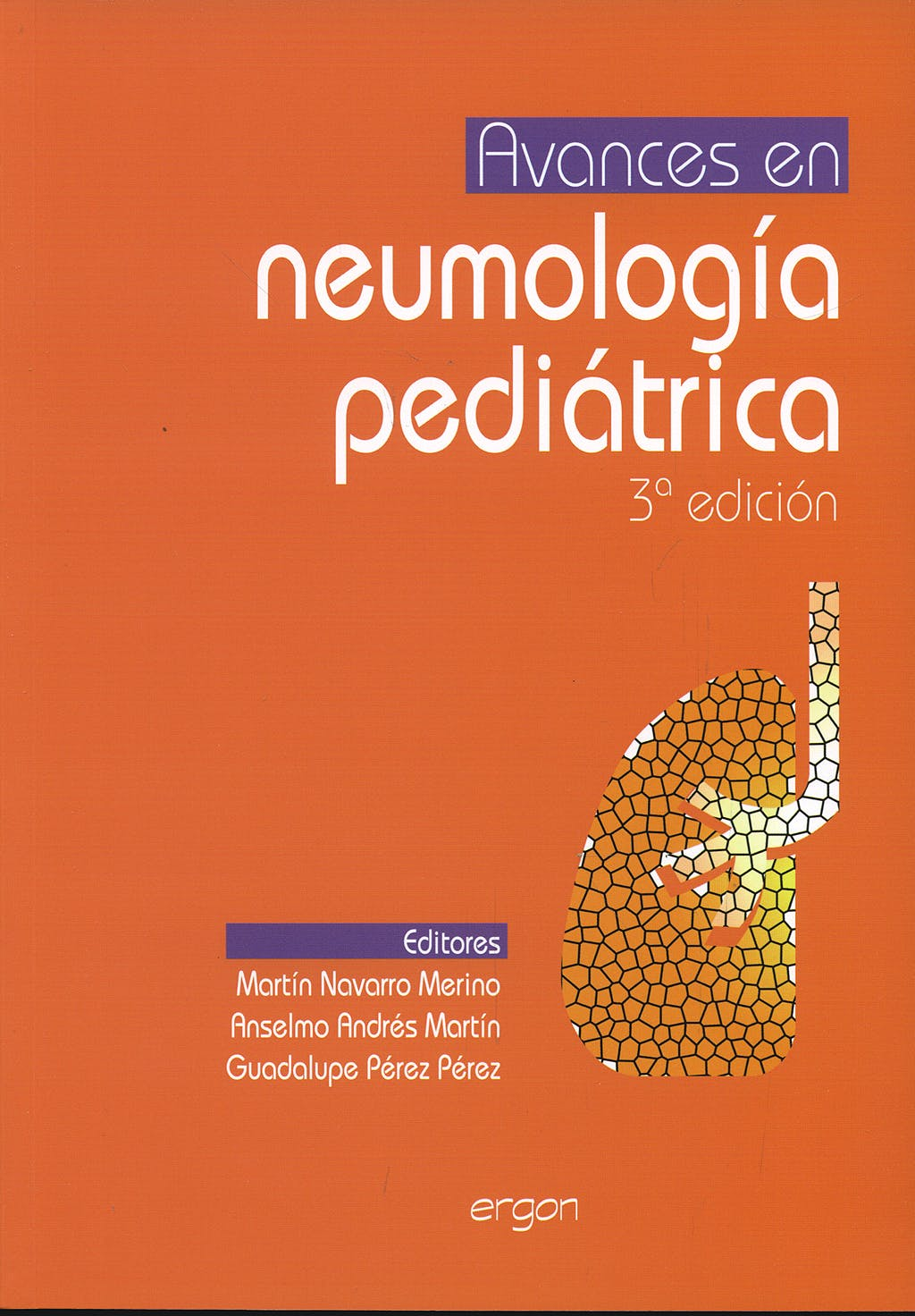 Portada del libro 9788484738251 Avances en Neumologia Pediatrica