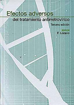 Portada del libro 9788484738640 Efectos Adversos del Tratamiento Antirretrovirico