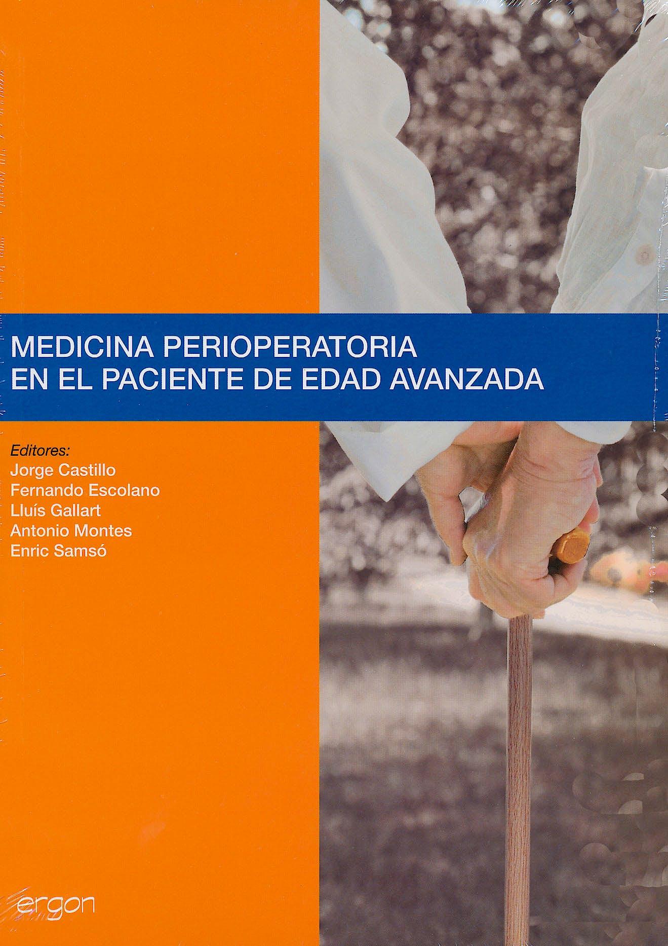 Portada del libro 9788484739753 Medicina Perioperatoria en el Paciente de Edad Avanzada