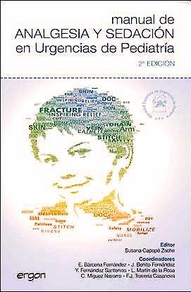 Portada del libro 9788484739968 Manual de Analgesia y Sedacion en Urgencias de Pediatria