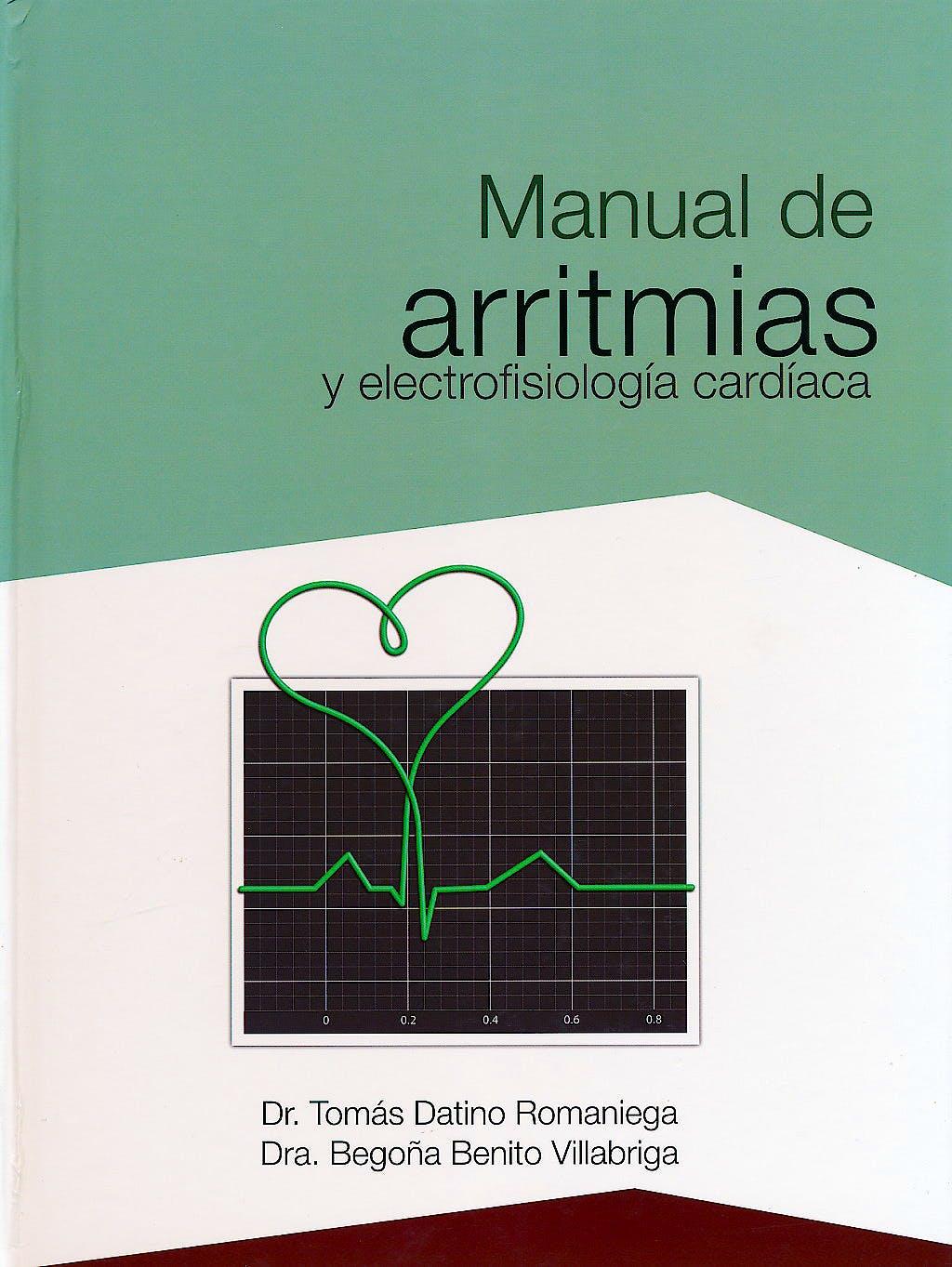 Portada del libro 9788486671815 Manual de Arritmias y Electrofisiología Cardíaca