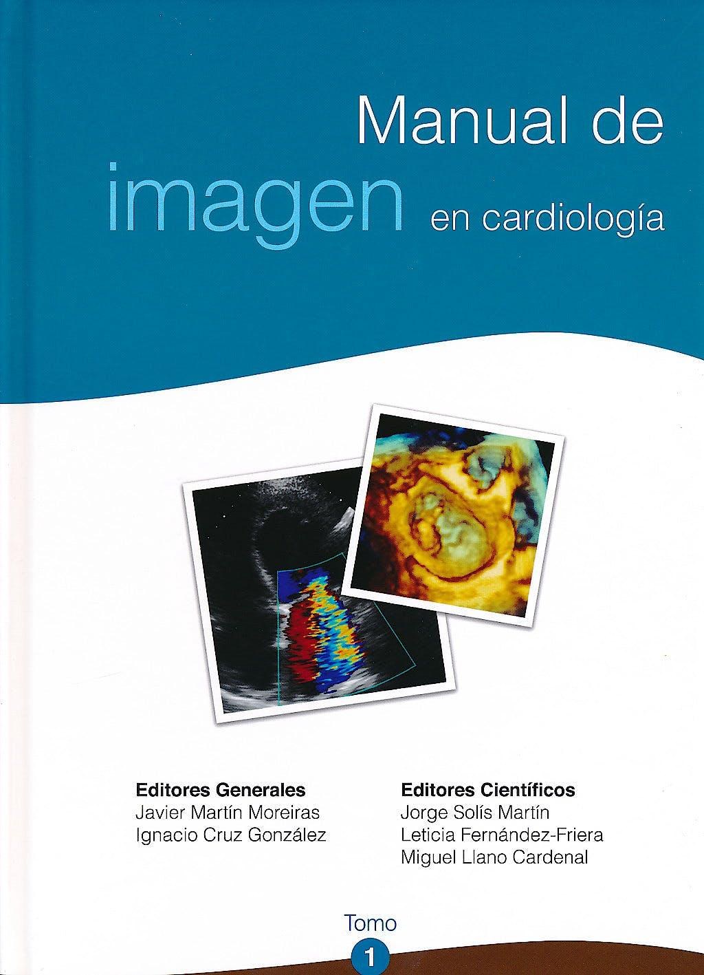 Portada del libro 9788486671839 Manual de Imagen en Cardiología, 2 Vols.