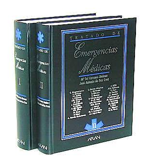 Portada del libro 9788486725594 Tratado de Emergencias Medicas, 2 Vols.