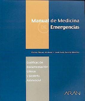Portada del libro 9788486725860 Manual de Medicina de Emergencias