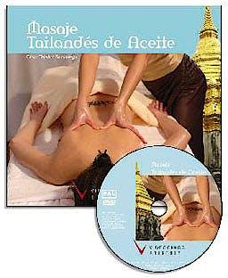 Portada del libro 9788487190940 Masaje Tailandes de Aceite (Libro + Dvd)
