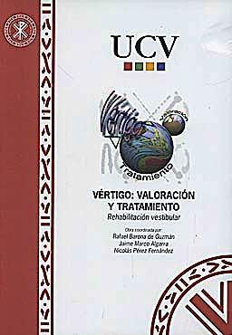 Portada del libro 9788487331442 Vértigo: Valoración y Tratamiento. Rehabilitación Vestibular