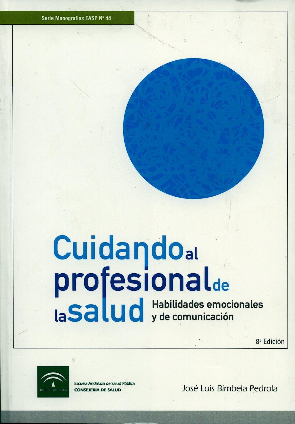 Portada del libro 9788487385704 Cuidando al Profesional de la Salud