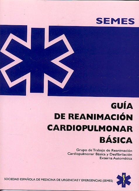 Portada del libro 9788487450716 Guia de Reanimacion Cardiopulmonar Basica