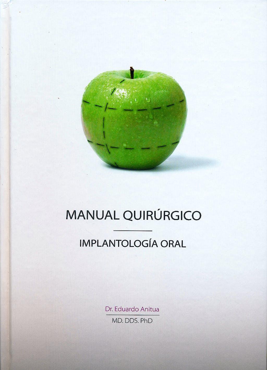 Portada del libro 9788487673269 Manual Quirurgico. Implantologia Oral