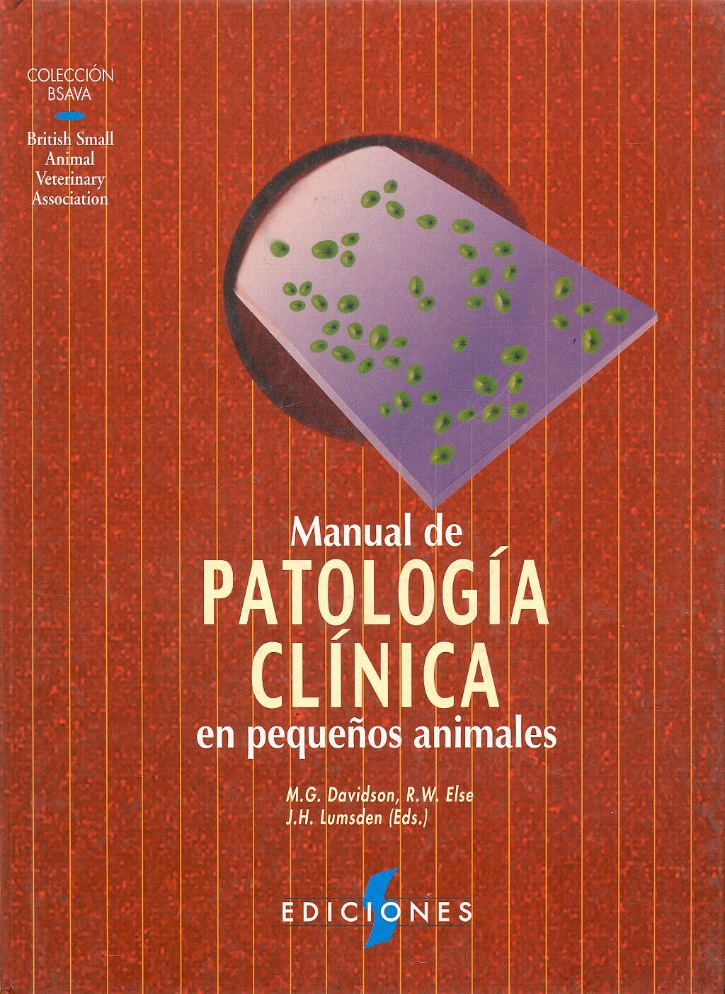 Portada del libro 9788487736346 Manual de Patologia Clinica en Pequeños Animales (Coleccion Bsava)