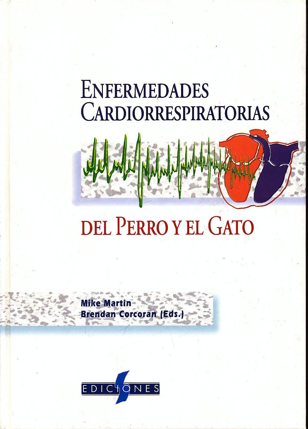 Portada del libro 9788487736384 Enfermedades Cardiorrespiratorias del Perro y el Gato