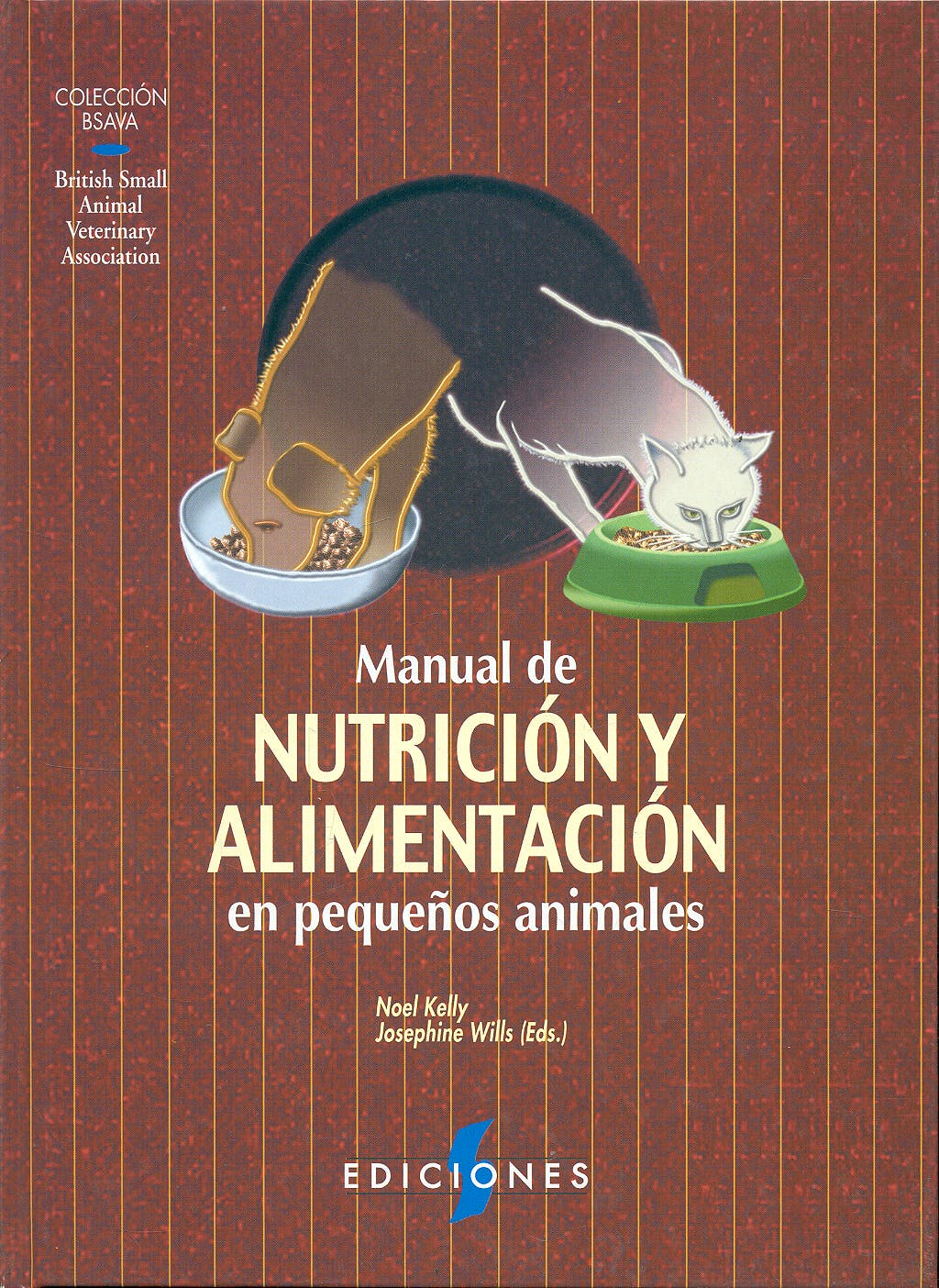 Portada del libro 9788487736452 Manual de Nutricion y Alimentacion en Pequeños Animales (Coleccion Bsava)