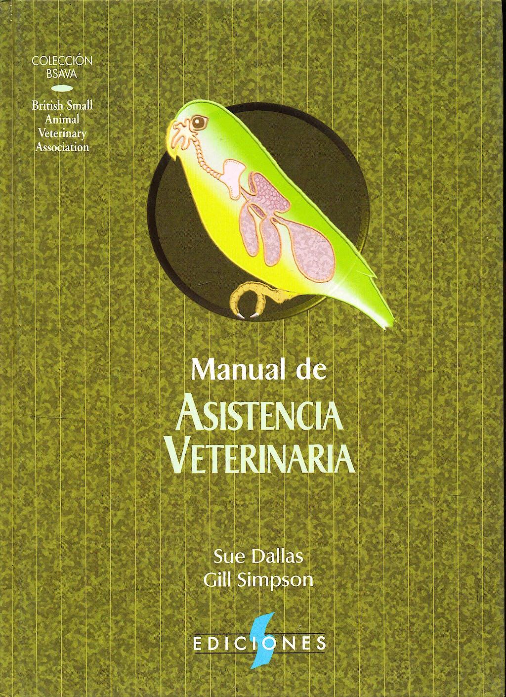 Portada del libro 9788487736483 Manual de Asistencia Veterinaria (Coleccion Bsava)