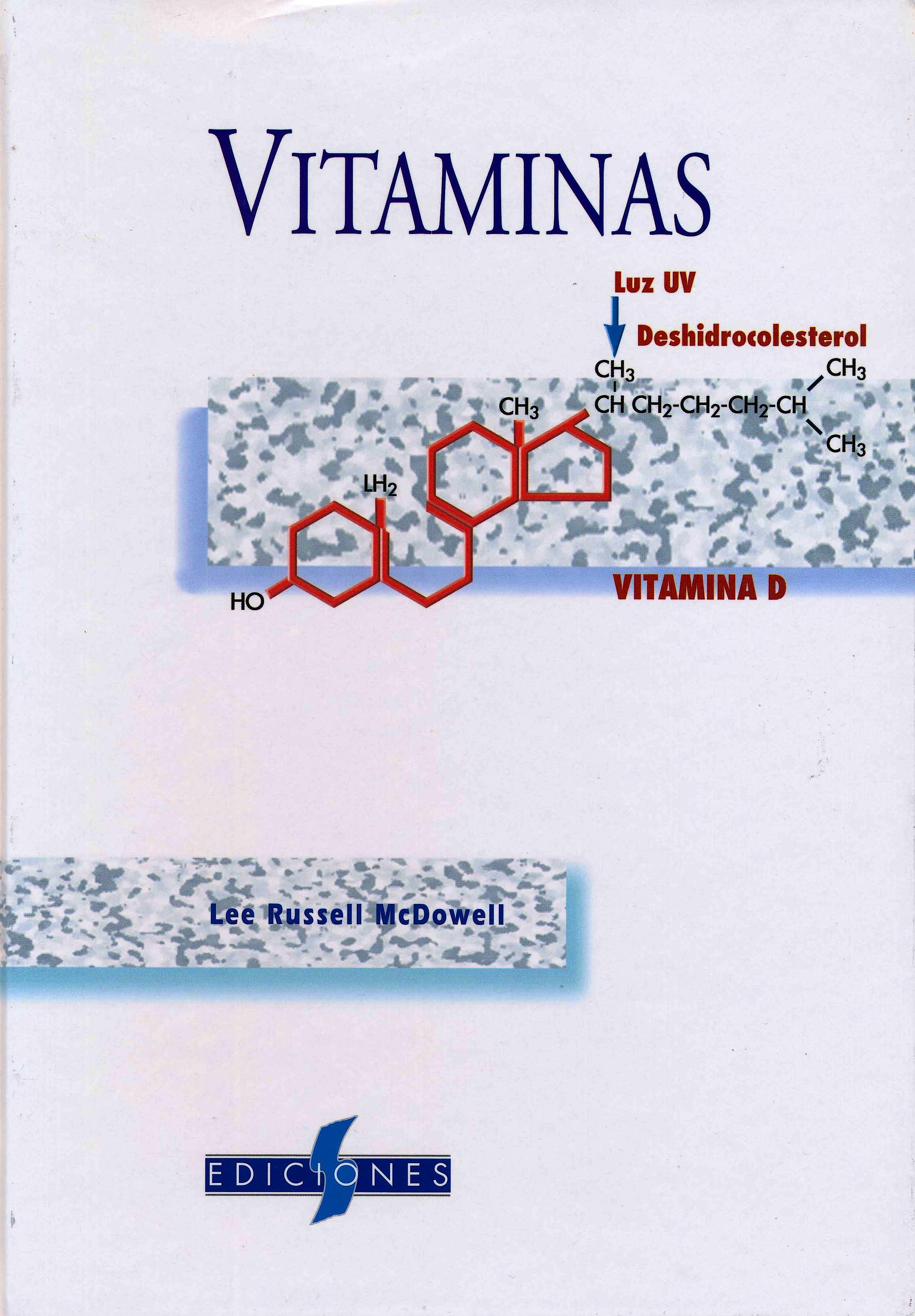 Portada del libro 9788487736544 Vitaminas