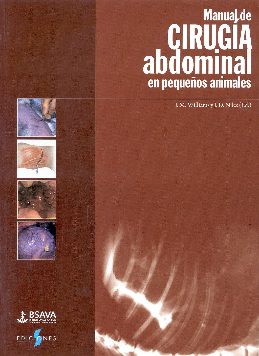 Portada del libro 9788487736704 Manual De Cirugia Abdominal en Pequeños Animales (Coleccion Bsava)