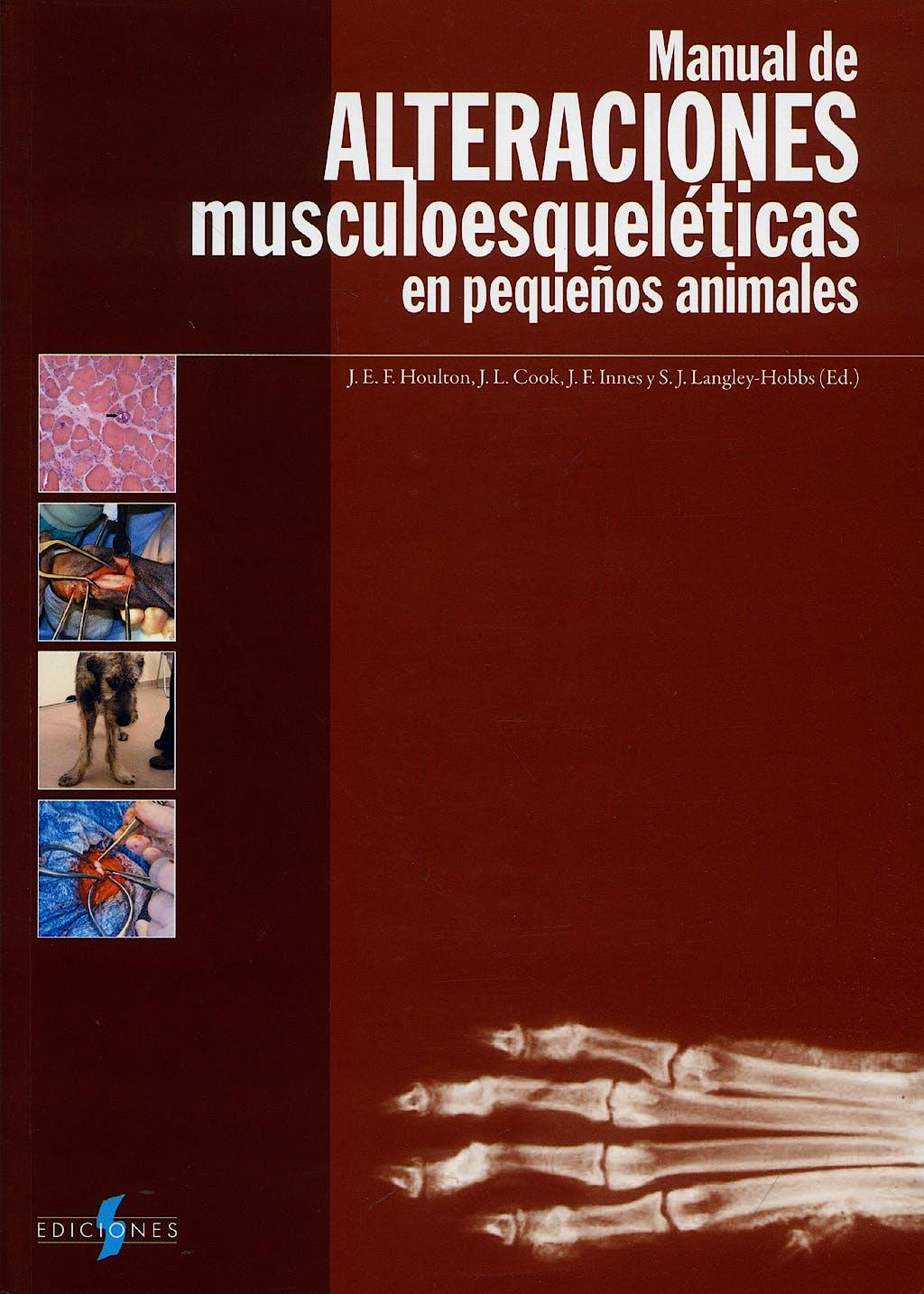 Portada del libro 9788487736728 Manual de Alteraciones Musculoesqueleticas en Pequeños Animales