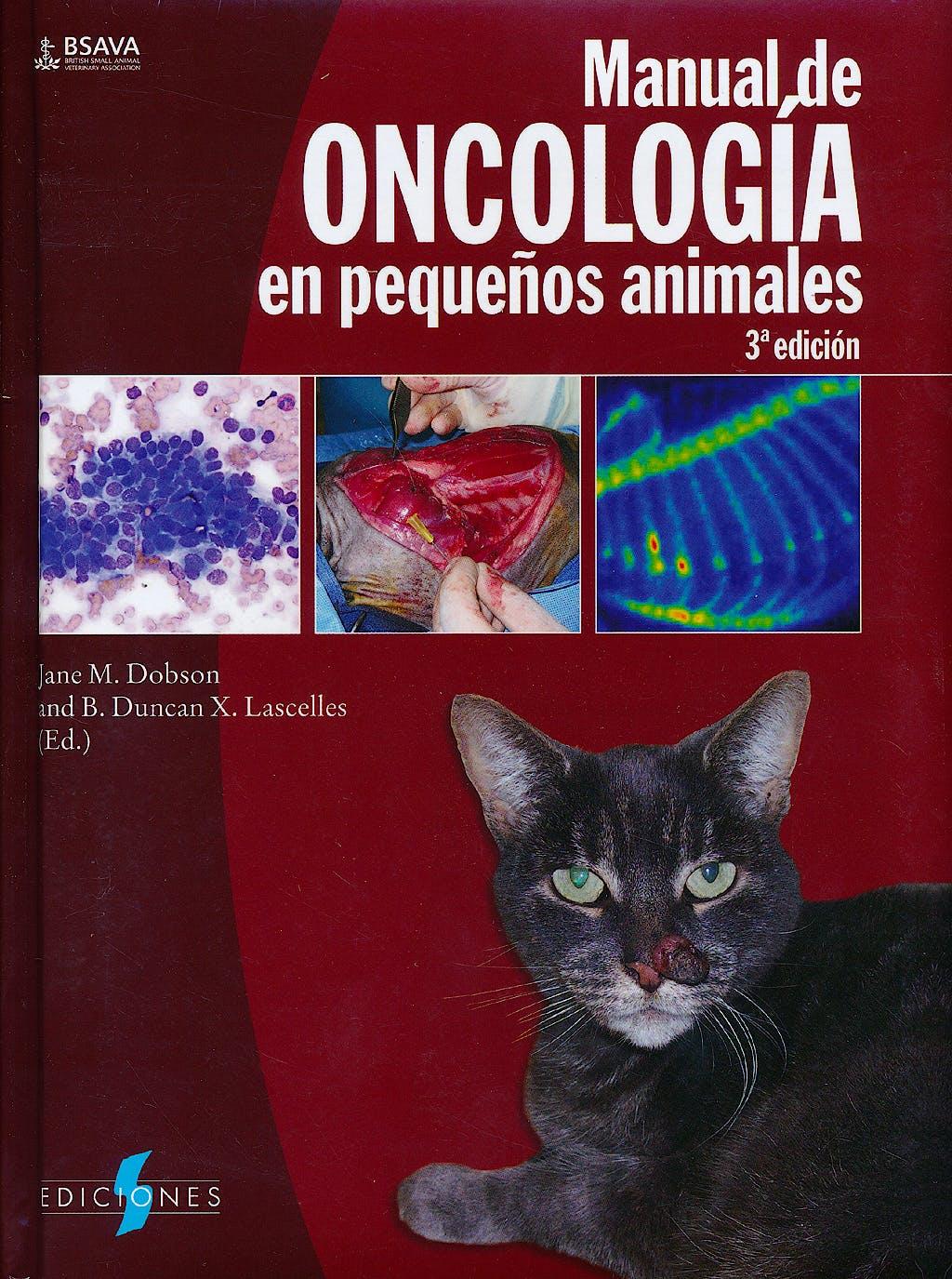 Portada del libro 9788487736803 Manual de Oncologia en Pequeños Animales