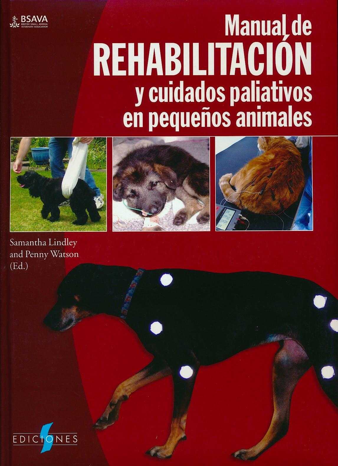Portada del libro 9788487736827 Manual de Rehabilitacion y Cuidados Paliativos en Pequeños Animales