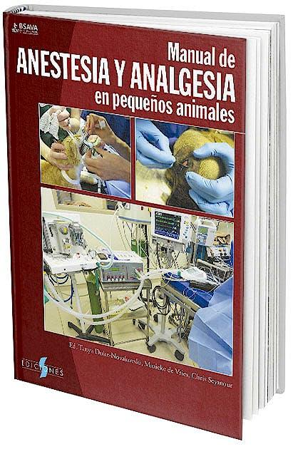 Portada del libro 9788487736896 Manual de Anestesia y Analgesia en Pequeños Animales