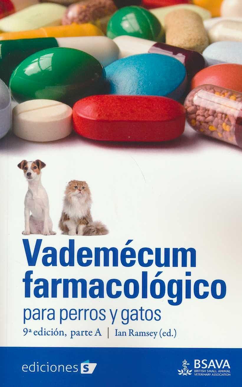 Portada del libro 9788487736926 Vademécum Farmacológico Para Perros y Gatos