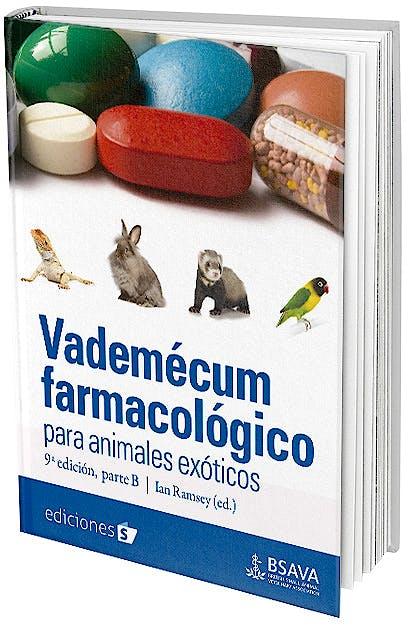 Portada del libro 9788487736933 Vademécum Farmacológico para Animales Exóticos