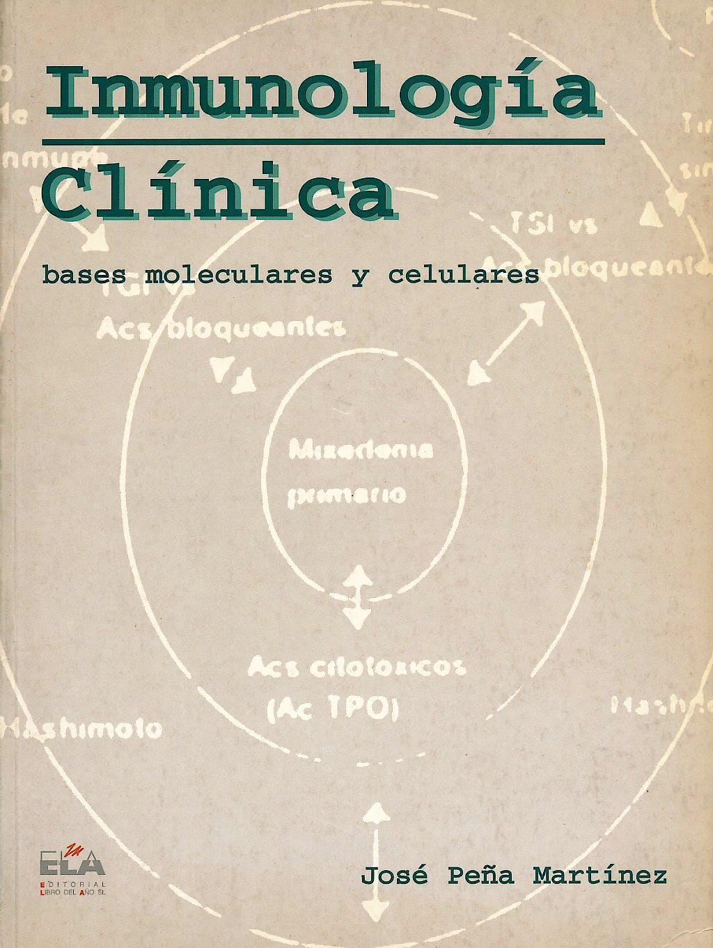 Portada del libro 9788487748981 Inmunologia Clinica. Bases Moleculares y Celulares