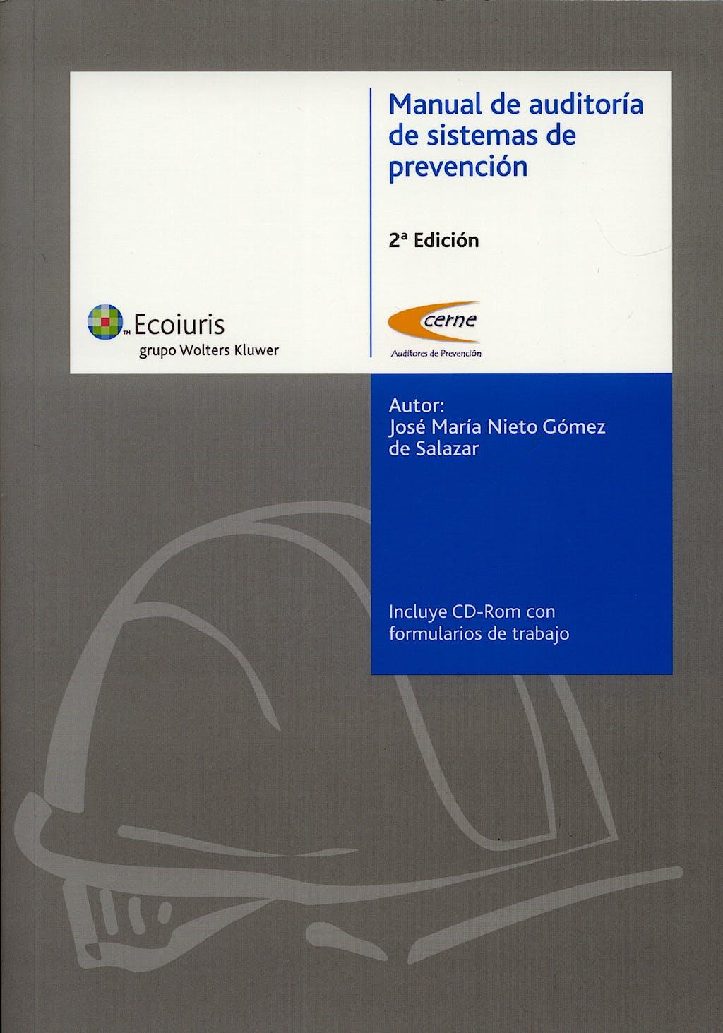 Portada del libro 9788488189349 Manual de Auditoria de Sistemas de Prevencion