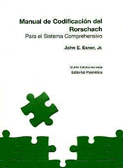 Portada del libro 9788488909107 Manual de Codificacion del Roschach