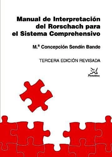 Portada del libro 9788488909152 Manual De Interpretación Del Rorschach Para El Sistema Comprehensivo