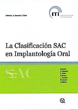 Portada del libro 9788489873469 La Clasificación SAC en Implantología Oral