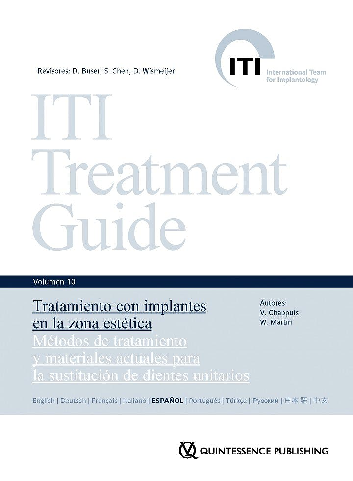 Portada del libro 9788489873759 ITI Treatment Guide, Vol. 10: Tratamiento con Implantes en la Zona Estética