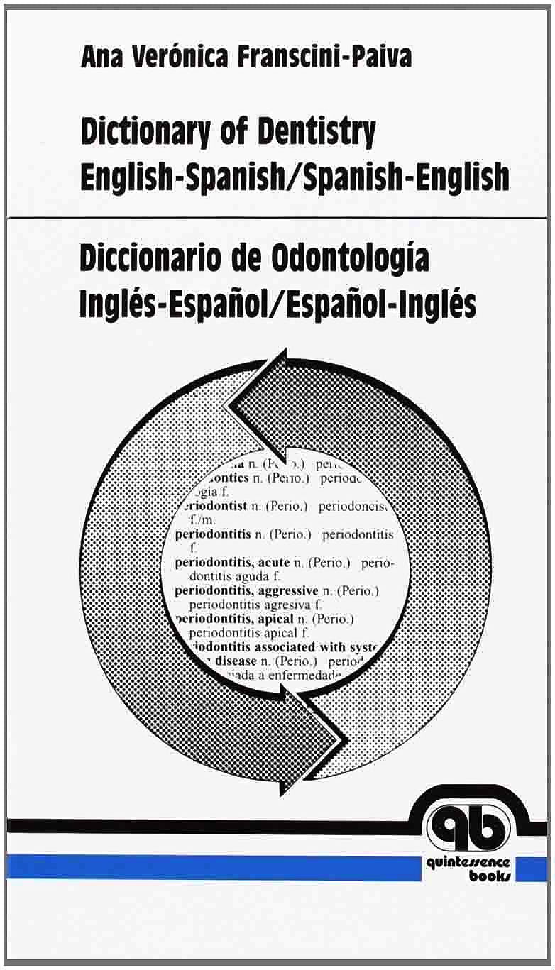 Portada del libro 9788489873995 Diccionario de Odontología Inglés-Español/Español-Inglés