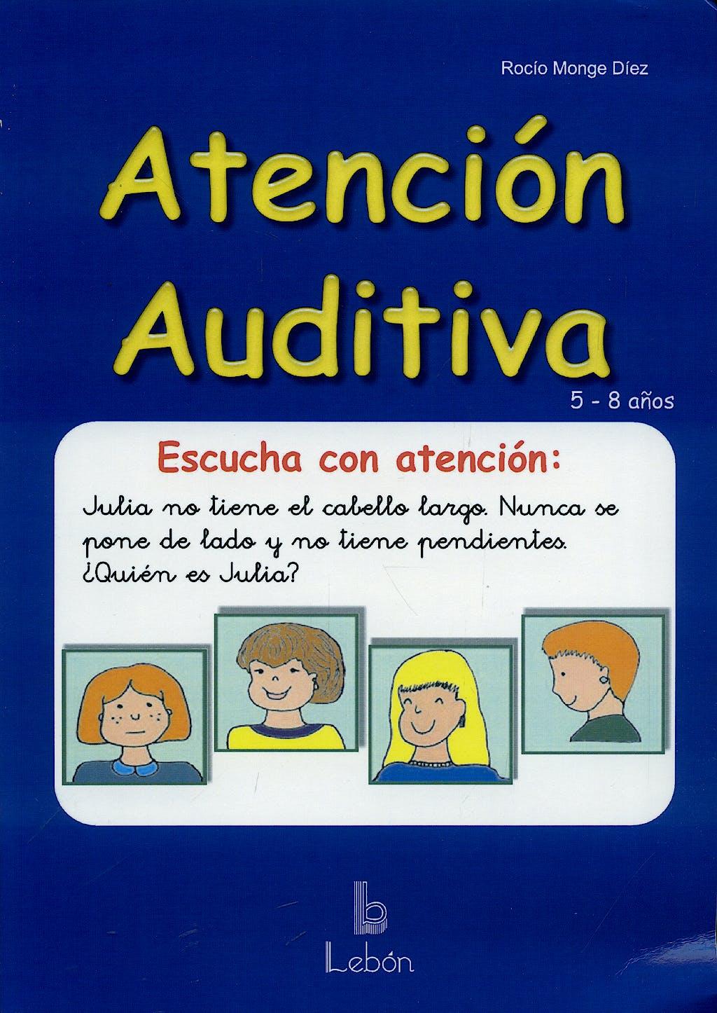 Portada del libro 9788489963917 Atencion Auditiva. 5-8 Años