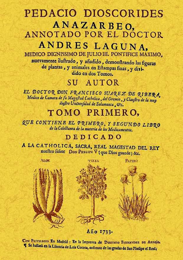 Portada del libro 9788490011232 Pedacio Dioscorides Annotado por el Doctor Andres Laguna, 2 Vols.