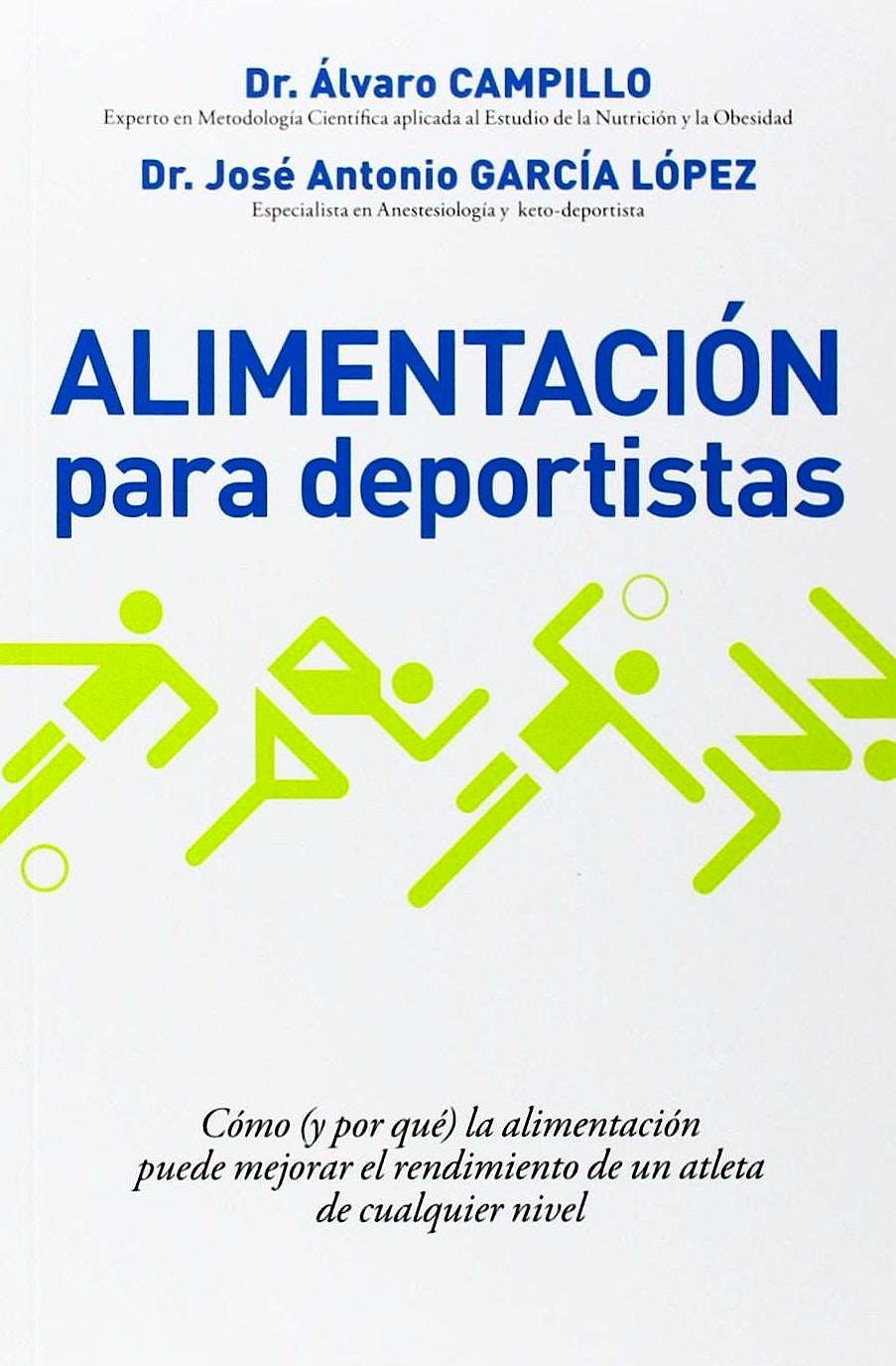 Portada del libro 9788490067574 Alimentación para Deportistas