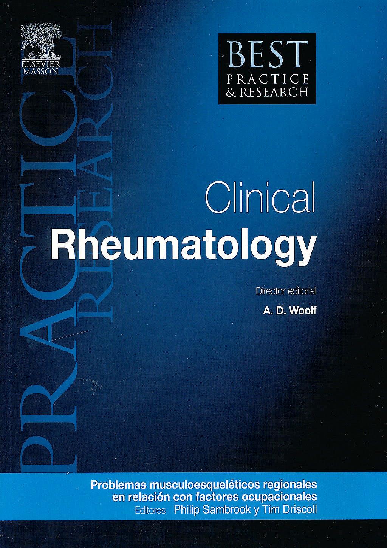Portada del libro 9788490220030 Problemas Musculoesqueléticos Regionales en Relación con Factores Ocupacionales (Reumatología Clínica, Vol. 25, Nº1)