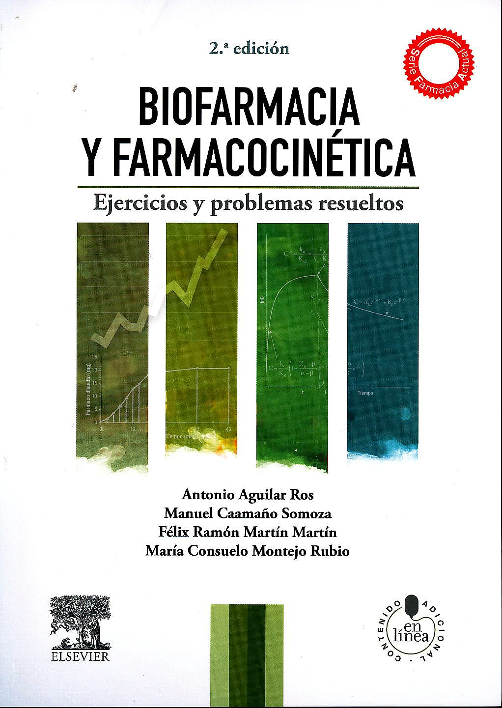 Portada del libro 9788490222607 Biofarmacia y Farmacocinética. Ejercicios y Problemas Resueltos + Acceso Online (Serie Farmacia Actual)