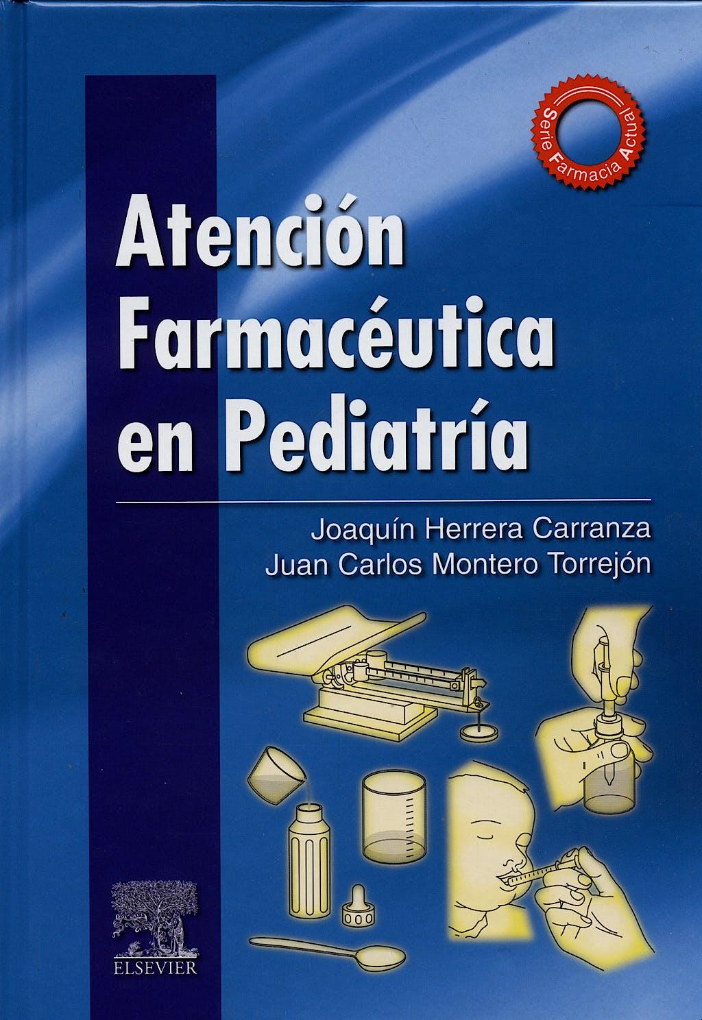 Portada del libro 9788490223864 Atención Farmacéutica en Pediatría