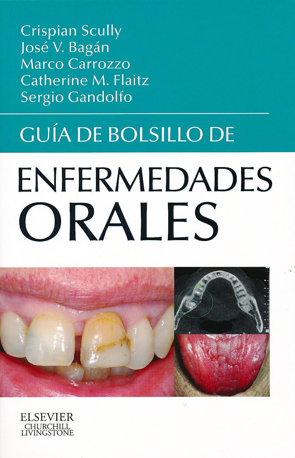 Portada del libro 9788490224298 Guía de Bolsillo de Enfermedades Orales