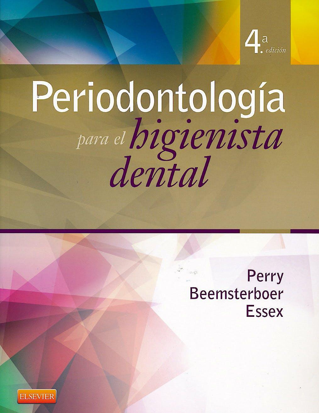 Portada del libro 9788490225349 Periodontología para el Higienista Dental