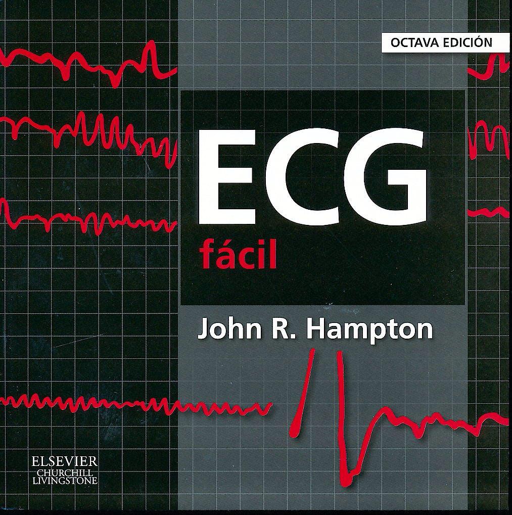 Portada del libro 9788490226858 ECG Fácil