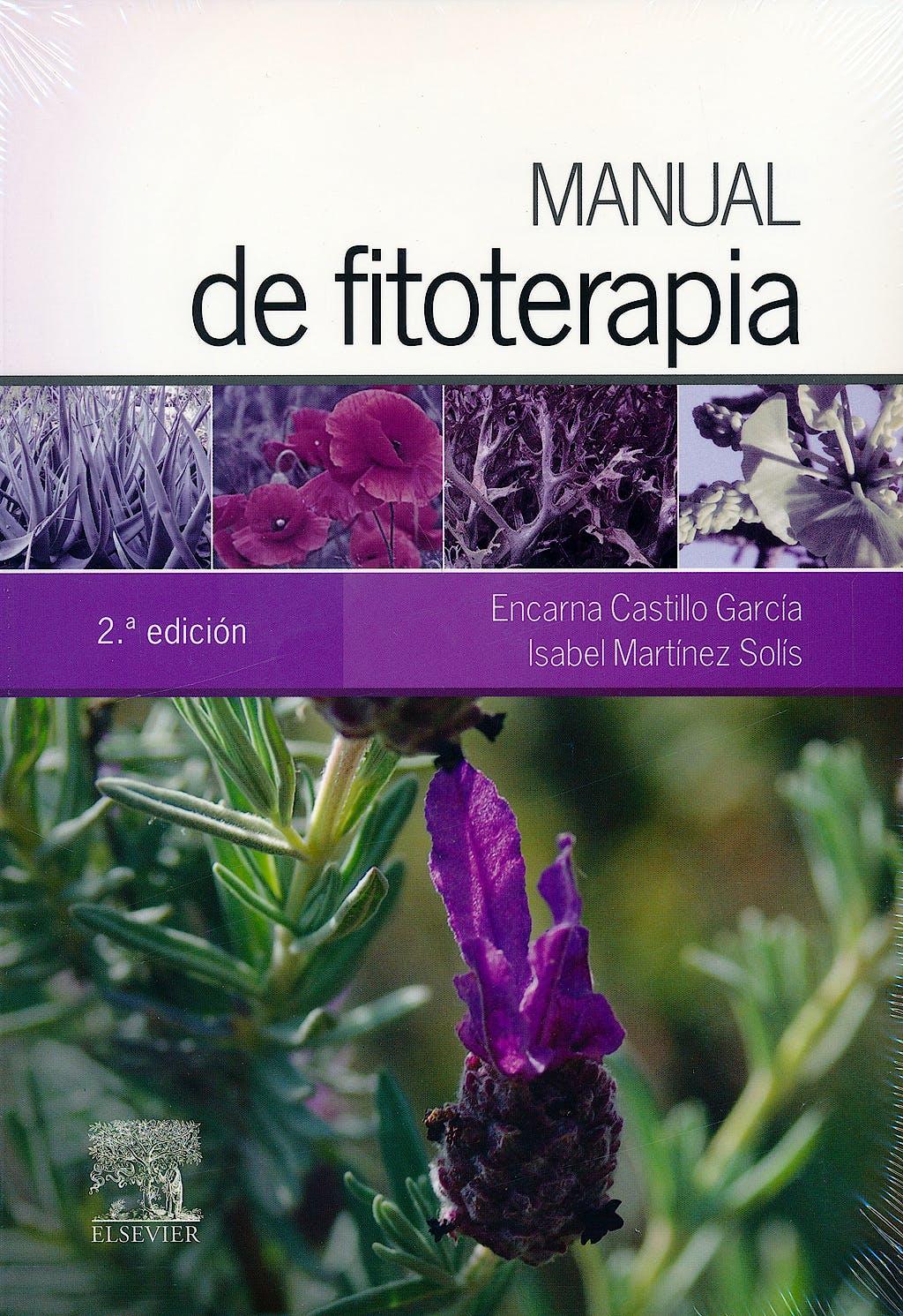 Portada del libro 9788490227473 Manual de Fitoterapia