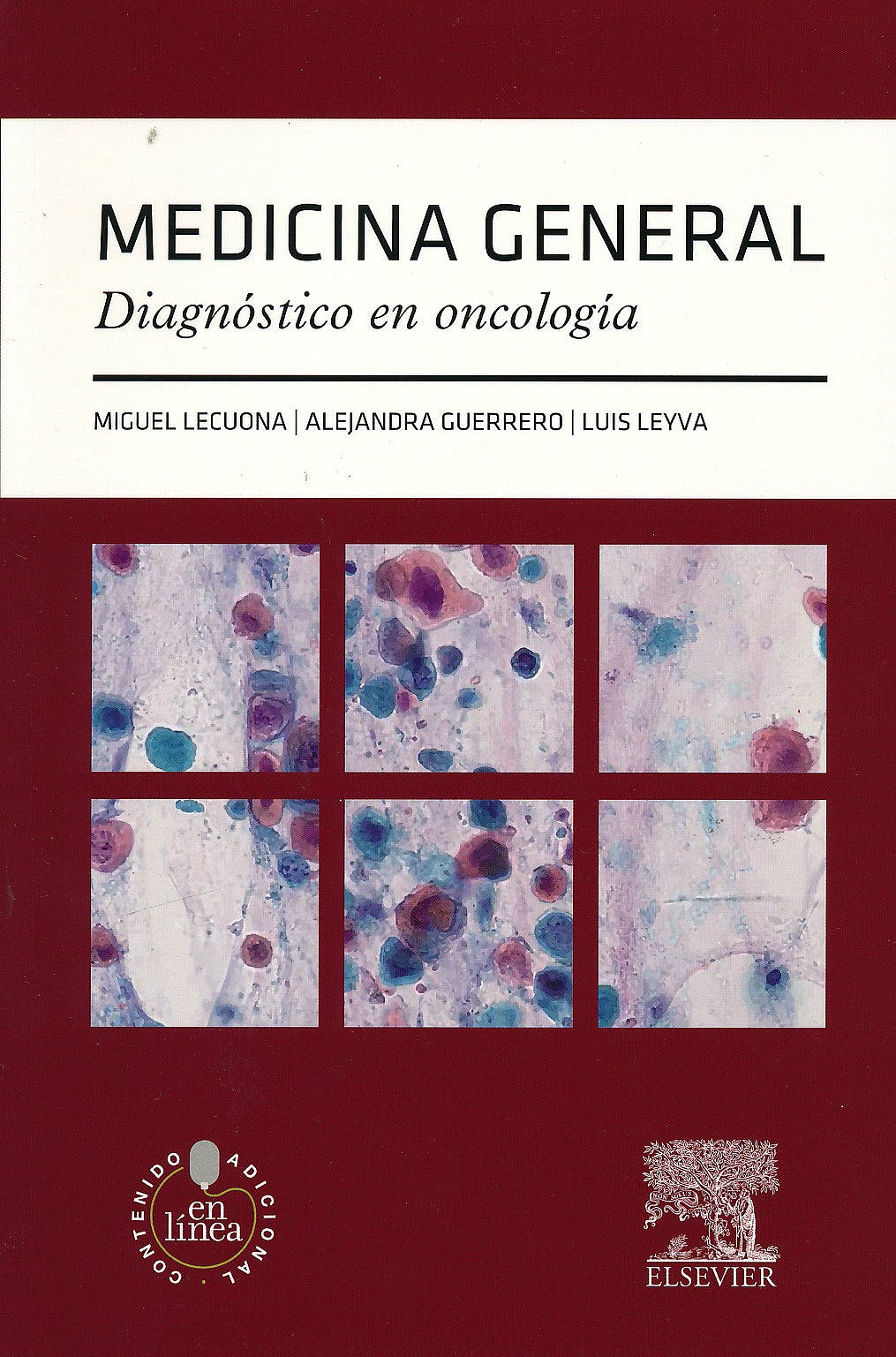 Portada del libro 9788490227770 Medicina General. Diagnóstico en Oncología + Acceso Online