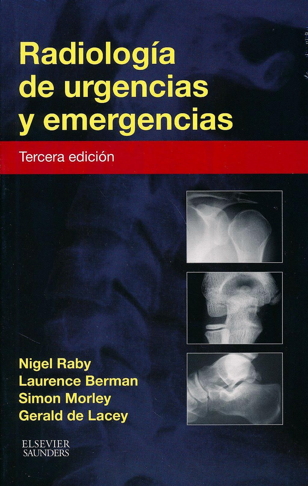 Portada del libro 9788490227831 Radiología de Urgencias y Emergencias