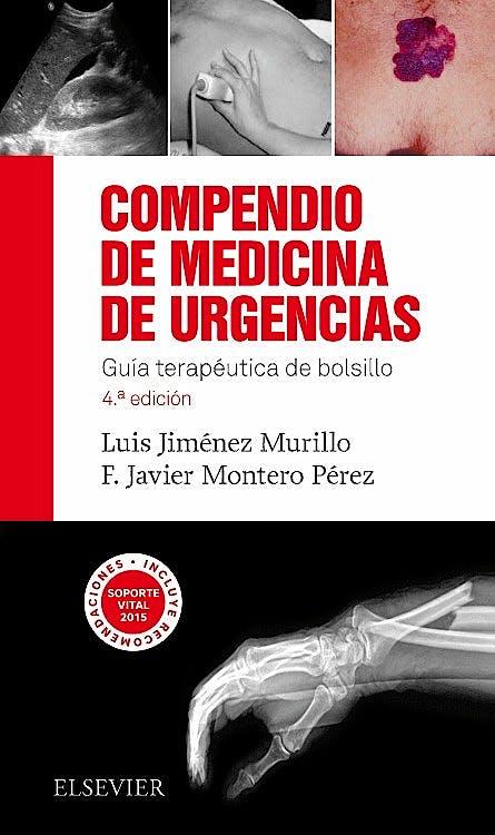 Portada del libro 9788490228098 Compendio de Medicina de Urgencias. Guía Terapéutica de Bolsillo