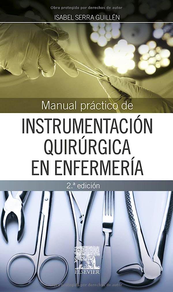 Portada del libro 9788490228234 Manual Práctico de Instrumentación Quirúrgica en Enfermería